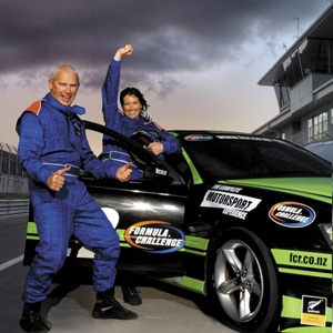 Drive a V8 Racecar at Taupo - 1 Person