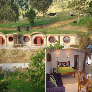 Hobbit Motel Accommodation -Waitomo 2ppl