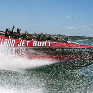 Auckland Jet Boat Tour - Family