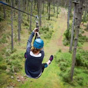 Tree Adventures High Flyer Courses 5-8 (Family - 4 People)