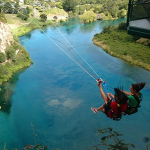 Tandem Extreme Swing - Taupo